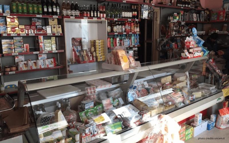 bottega alimentare di quartiere